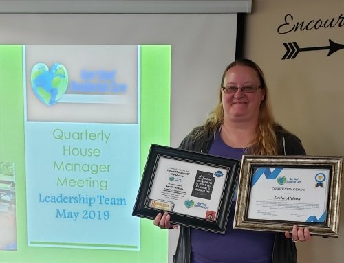 May 2019 House Manager of the Quarter!